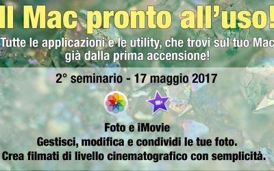 """Seminario """"Foto e iMovie"""""""