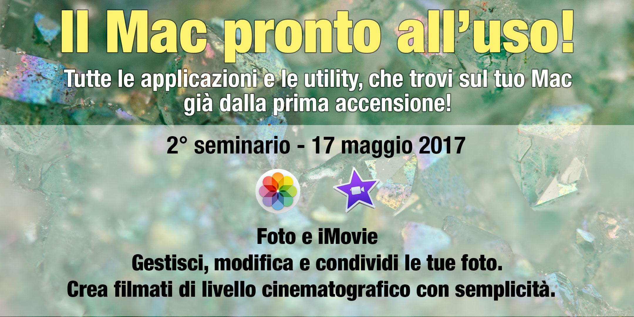 Seminario Foto e iMovie